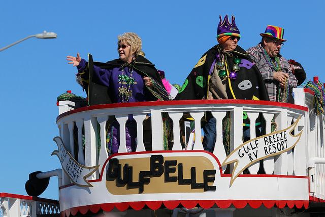 Gulf Shores Orange Beach Mardi Gras Parades